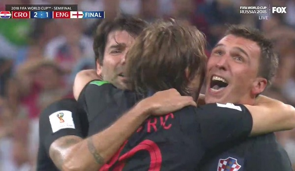 Twitter Reacts as Croatia Advances to First Ever World Cup Final