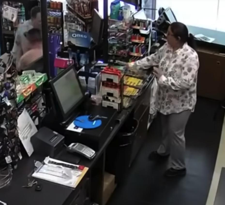 Criminal Couple's Attempt to Escape Store Features Unbelievable Number of Plot Twists [VIDEO]