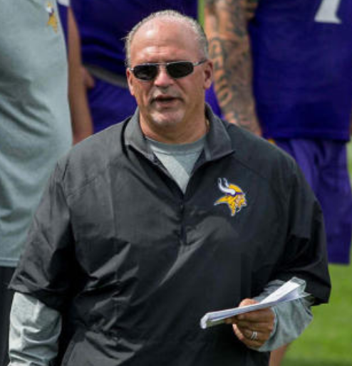 Tony Sparano Vikings Offensive Line Coach Dies at 56