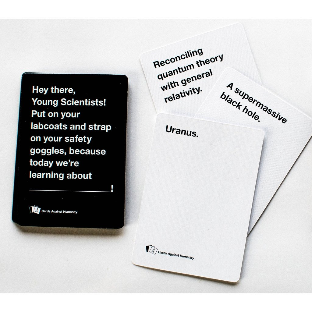 Cards Against Humanity Is Hiring Writers for Its Absurd Cards For $40 an Hour