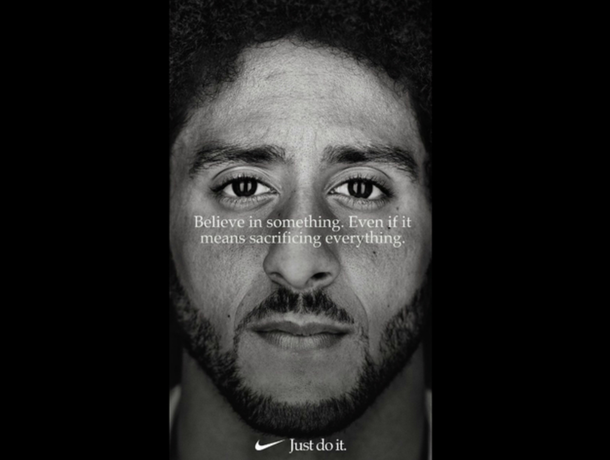 Here's Nike's Full Ad Featuring Colin Kaepernick That Will Air During the NFL Opener