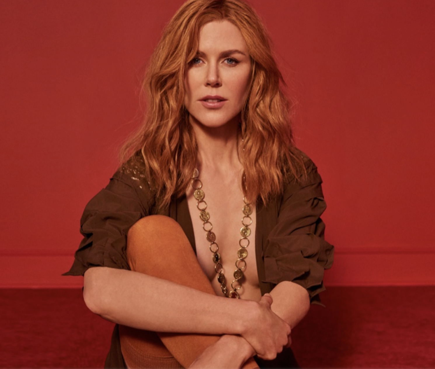 Nicole Kidman in the New Issue of Marie Claire [NSFW PICS]