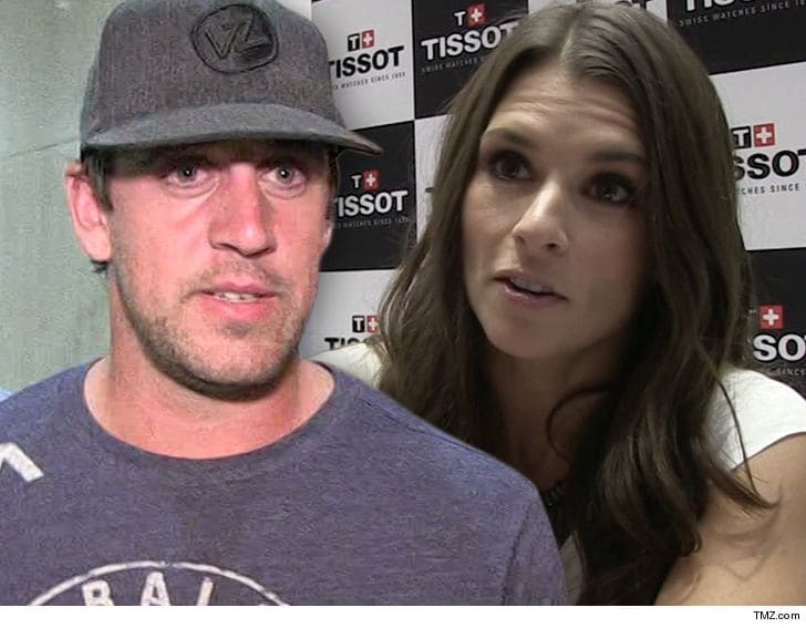 Aaron Rodgers Professes Love for Danica Patrick: 'We're Really Into Each Other'
