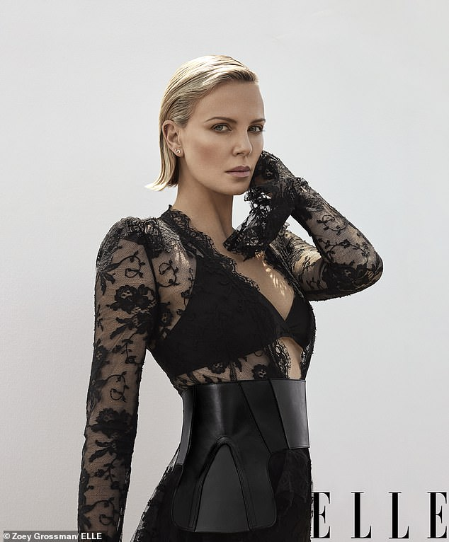 Charlize Theron Drips Sex in Latest Issue of Elle Magazine