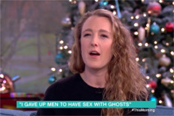 WOMAN WHO HAD SEX WITH 20 GHOSTS IS NOW ENGAGED TO A SPIRIT