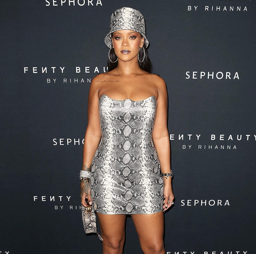 Rihanna's About to Bust Out of Her Super Tight Dress While in Sydney [SFW PICS]