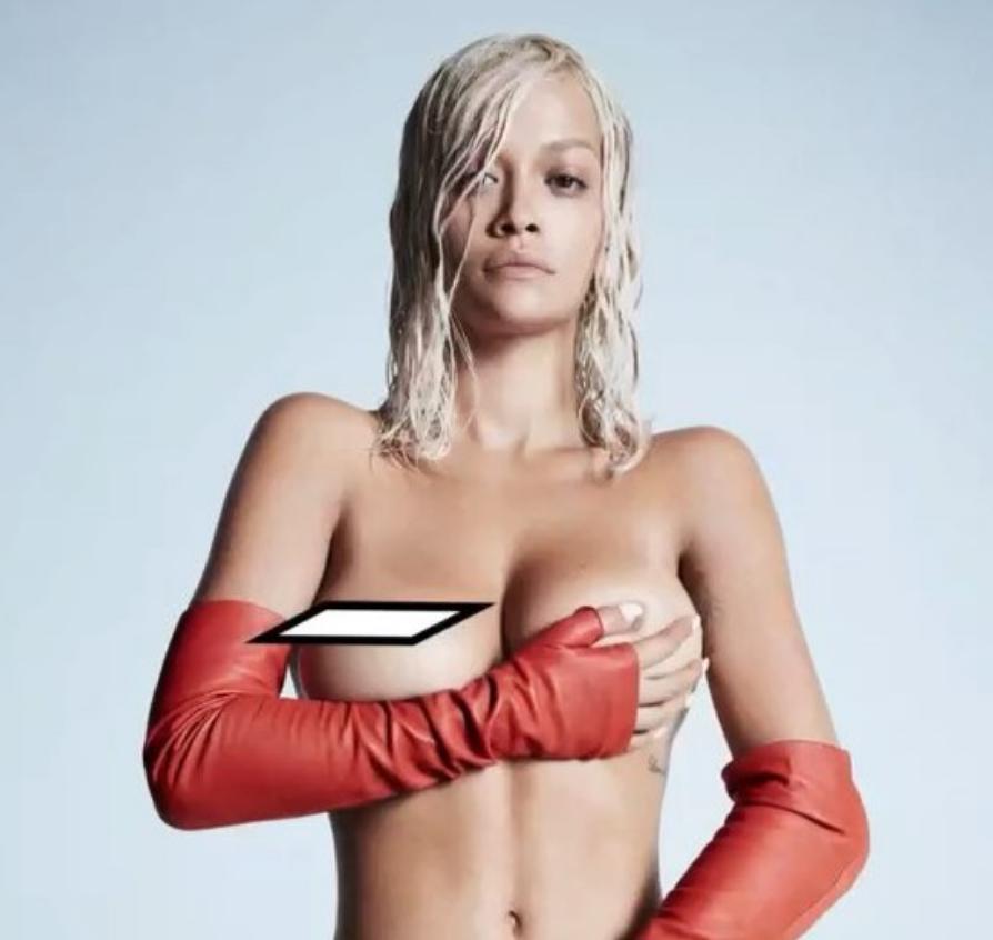 Rita Ora Goes Naked for CLASH Magazine