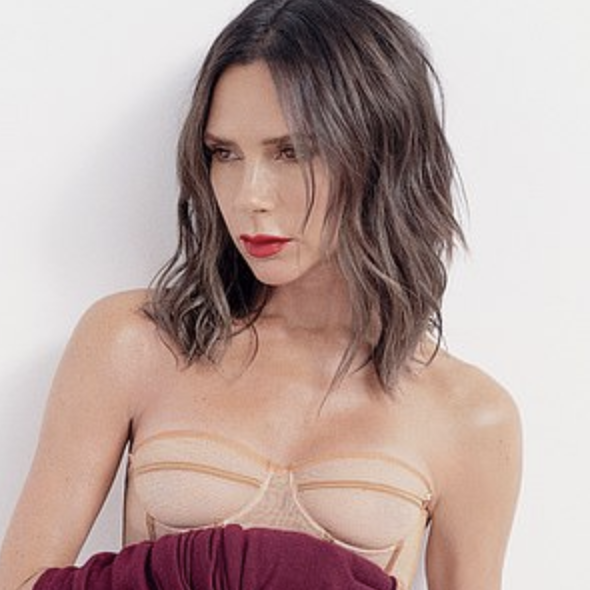 42-year-old, Victoria Beckham poses for Vogue Australia