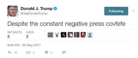 First Tidbit Of The Day: What Was The President Trying To Say?