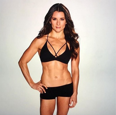 Danica Patrick Shares Real Vs. Produced Pics of Her Abs