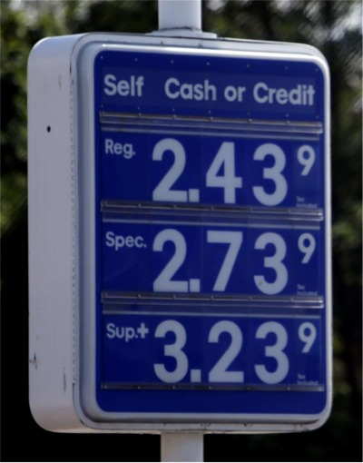 First Tidiut Of The Day: 'Dramatic Turnaround' Projected for Fourth of July Gas Prices