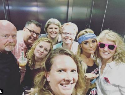Miranda Lambert Kicks Off CMA Fest Week by Getting Stuck in an Elevator