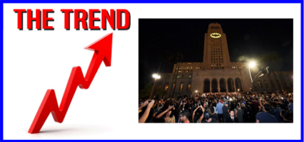 The KICKS 106.3 Morning Trend: Bat Signal Shines Over Los Angeles