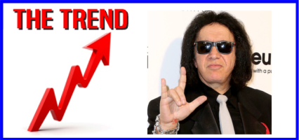 The KICKS 106.3 Morning Trend: KISS's Gene Simmons Is Trying to Trademark the Devil Horns
