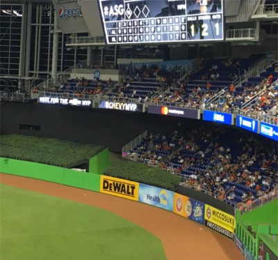 First Tidbit Of The Day: The All-Star Game Went Extra Innings But Half The Crowd Was Gone