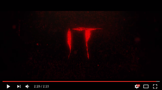 """It"" Official Trailer #1"
