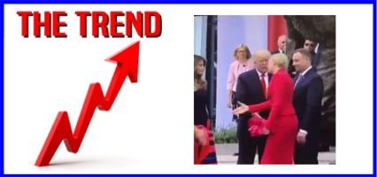 The KICKS 106.3 Morning Trend: Video of Polish First Lady Dodging Trump Handshake Goes Viral