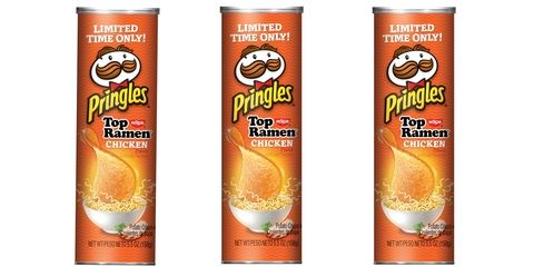 Top Ramen Pringles...A Coworker Is Going To Be Happy