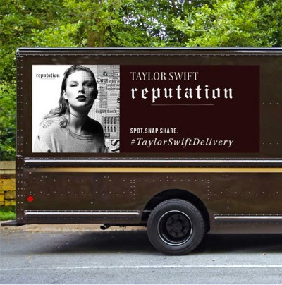 It's A Taylor Swift Invasion!