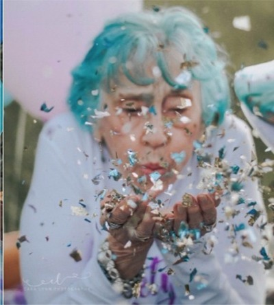 A Maryland Woman's 98th Birthday Pics Have Gone Viral