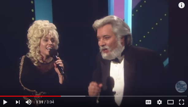 Miley Cyrus & Jimmy Fallon Cover Dolly & Kenny Rogers