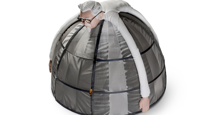 KFC Is Selling A $10,000 Internet Escape Pod
