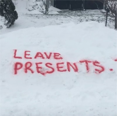 A Canadian 9 Year-Old Wants Santa To Leave Presents And Take Her Brother!