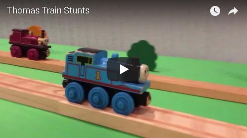 Thomas The Train Stunts
