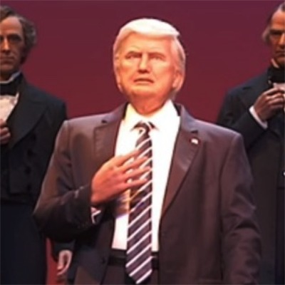President Trump Comes To Disney World...Kind Of