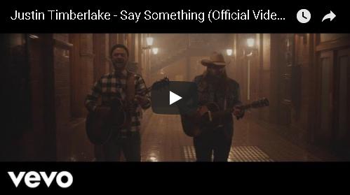 Justin Timberlake's New Video Featuring Chris Stapleton