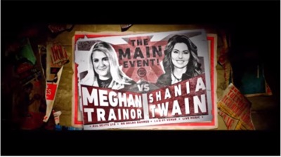 ICYMI: It's Shania Vs. Meghan Trainor!