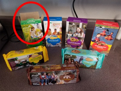 When The Girl Scout Cookies Arrive At The Radio Station!