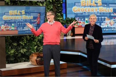 We Wouldn't Advise Letting Bill Gates Do Your Grocery Shopping