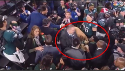 Kevin Hart Tries To Sneak On Stage After The Game... And Gets Booted!