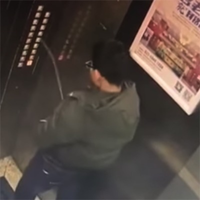 Instant Karma Traps Boy In Elevator