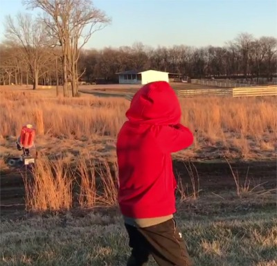 Luke Bryan's Son Tatum Is Quite The Sharpshooter!