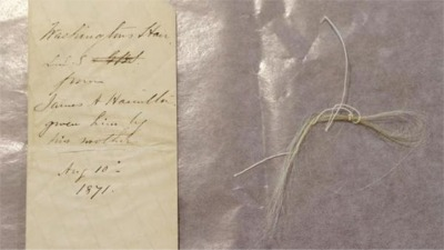 A Piece Of George Washington Has Been Found In A Book