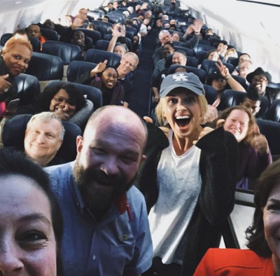 Why Was Carly Pearce Screaming On An Airplane Yesterday?