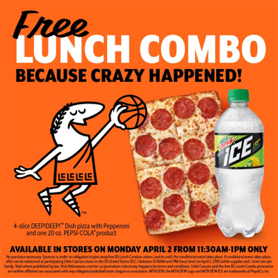 Pizza, Pizza! For Free!