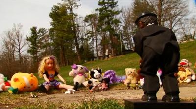 Police In North Carolina Found A Very Creepy Site In A Park