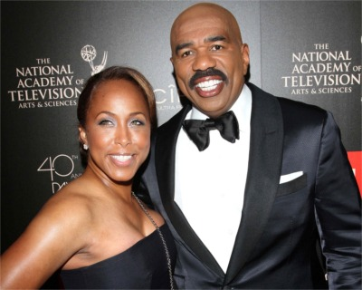 "Steve Harvey's Wife Is In Hot Water For Using The ""R"" Word"