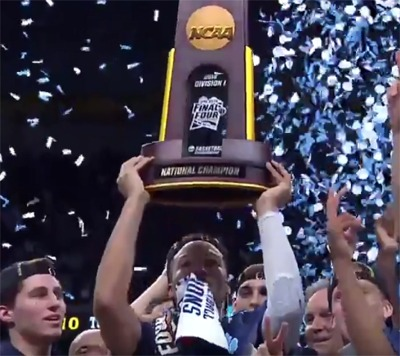 It Was One Shining Moment At The NCAA Finals Last Night