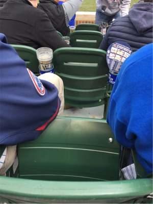 """It's A """"Squeeze Play"""" Of A Different Kind At Wrigley Field"""
