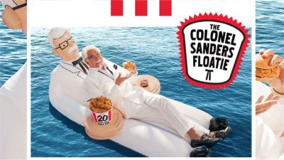 You Can Now Go Swimming With The Colonel
