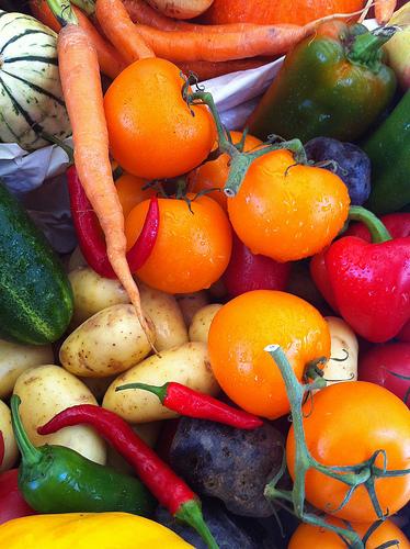 Freezing Summer Produce
