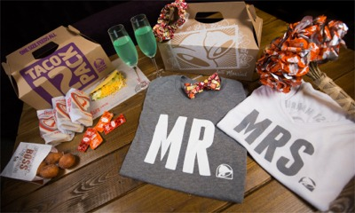 Taco Bell Gets Into The Wedding Business