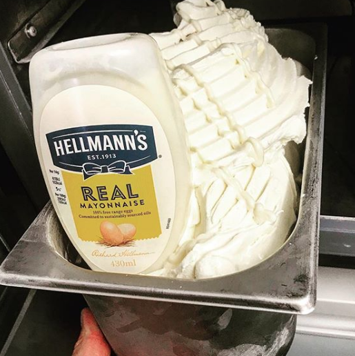 Mayonnaise Ice Cream Is Real
