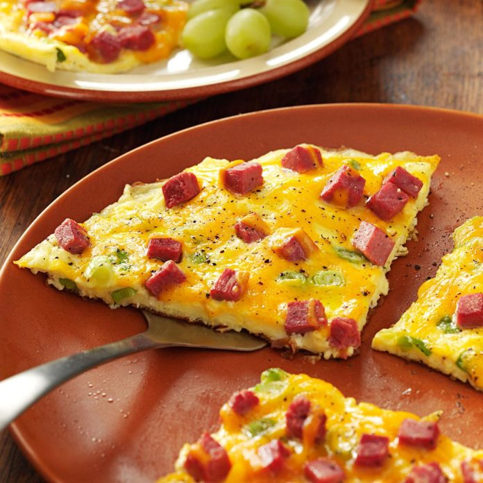 Start Off Irish Fest With A Corned Beef Omelet