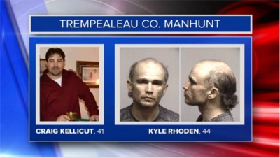 UPDATE: Search for wanted men in Trempealeau County