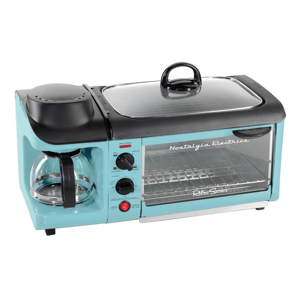 Throw It Back With A Retro Breakfast Center Toaster Oven